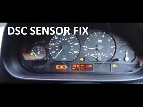bmw dsc light fix try this before buying new pressure sensor youtube rh youtube com what is abs light on a truck