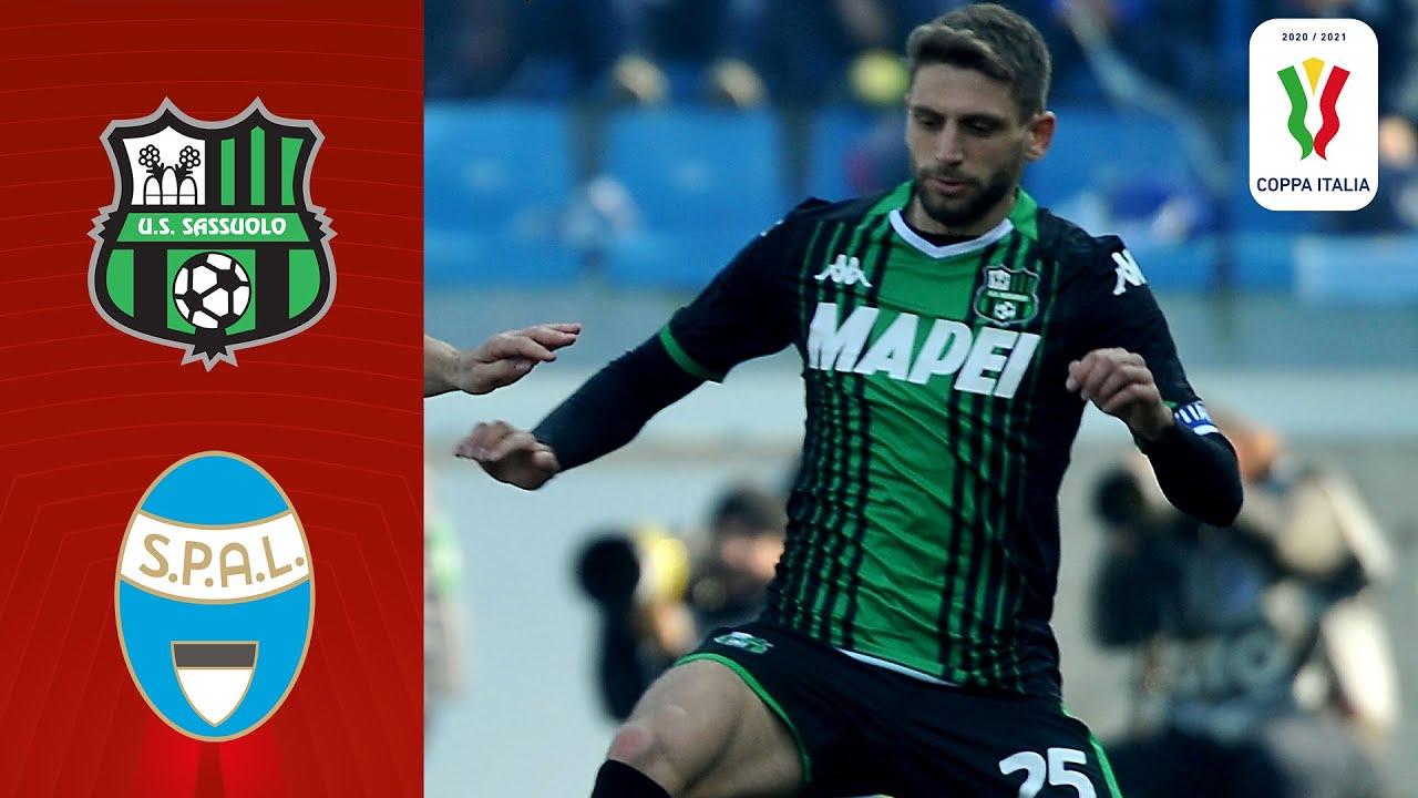 🔴 Sassuolo v SPAL | Full Match LIVE | Coppa Italia 2020/2021 | Serie A TIM