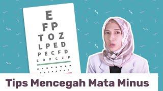 3 Tips Mencegah Mata Minus Bertambah   dr. Vania Utami