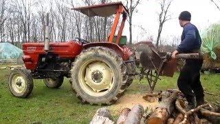 Fiat 450H Tractor & Wood Cutter Machine