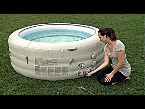 Bestway Lay-Z-Spa™ Vegas Inflatable Hot Tub 54112 - Set Up Video 2013 model