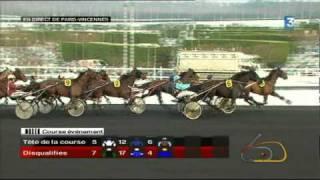 Critérium Continental 2010 - Vidéo du Quinté + de Dimanche 26 Décembre à Vincennes