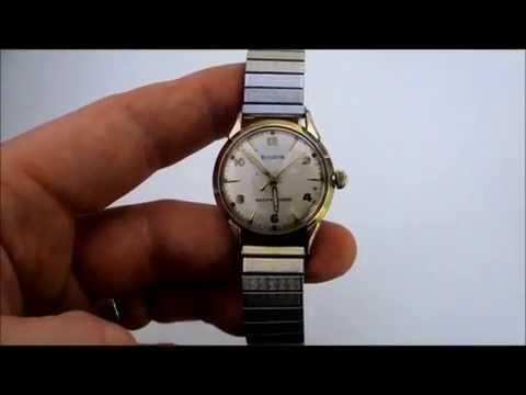 Bulova self-winding watch 1959