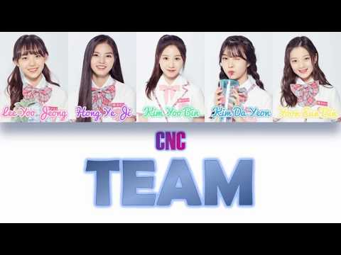 PRODUCE48(프로듀스 48)-CNC Trainees ♬Team ColorCodedLyrics[Han,Rom&Eng]