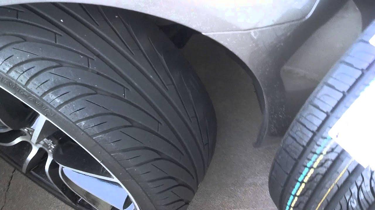 All Season Tires >> All season Tires Nexen N7000 on Infiniti G37 - YouTube