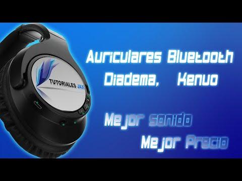 Auriculares de Diadema Bluetooth Marca Kenuo