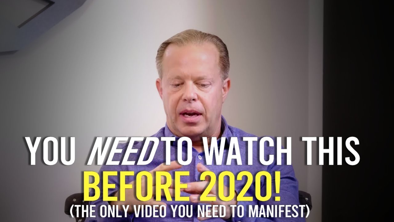 Dr Joe Dispenza   How To Create The Life You Want In 2020