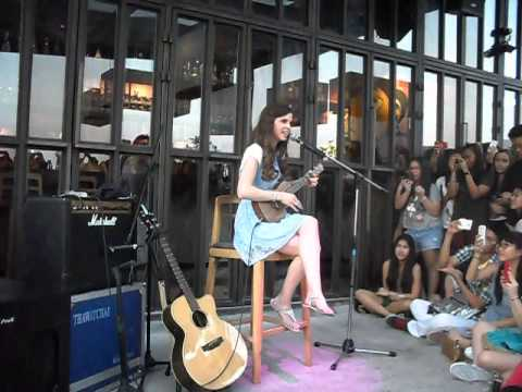 Tiffany Alvord Live In Bangkok 2013 - Both Of Us