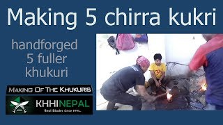 Making of 'Shree 5 chirra' Khukuri