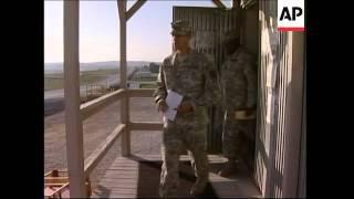 US troops at Camp Bondsteel vote ahead of mid-term elections