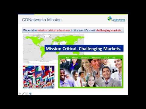 Transformation of the Digital Media Industry - CDNetworks & Telehouse