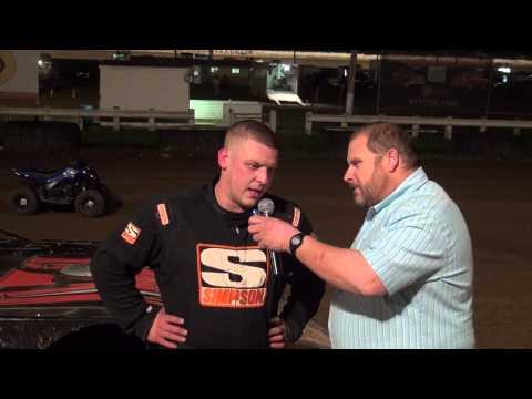 RUSH Spring Sizzler winner 5-2-15 at Pittsburgh's PA Motor Speedway