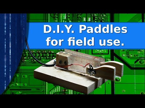 Ham Radio - D.I.Y. paddles for field use