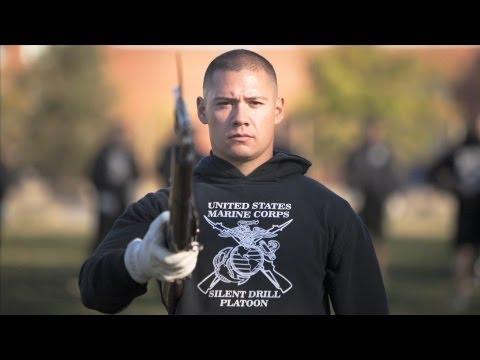 Marine Corps Silent Drill Platoon: LCPL Frank Gonzales