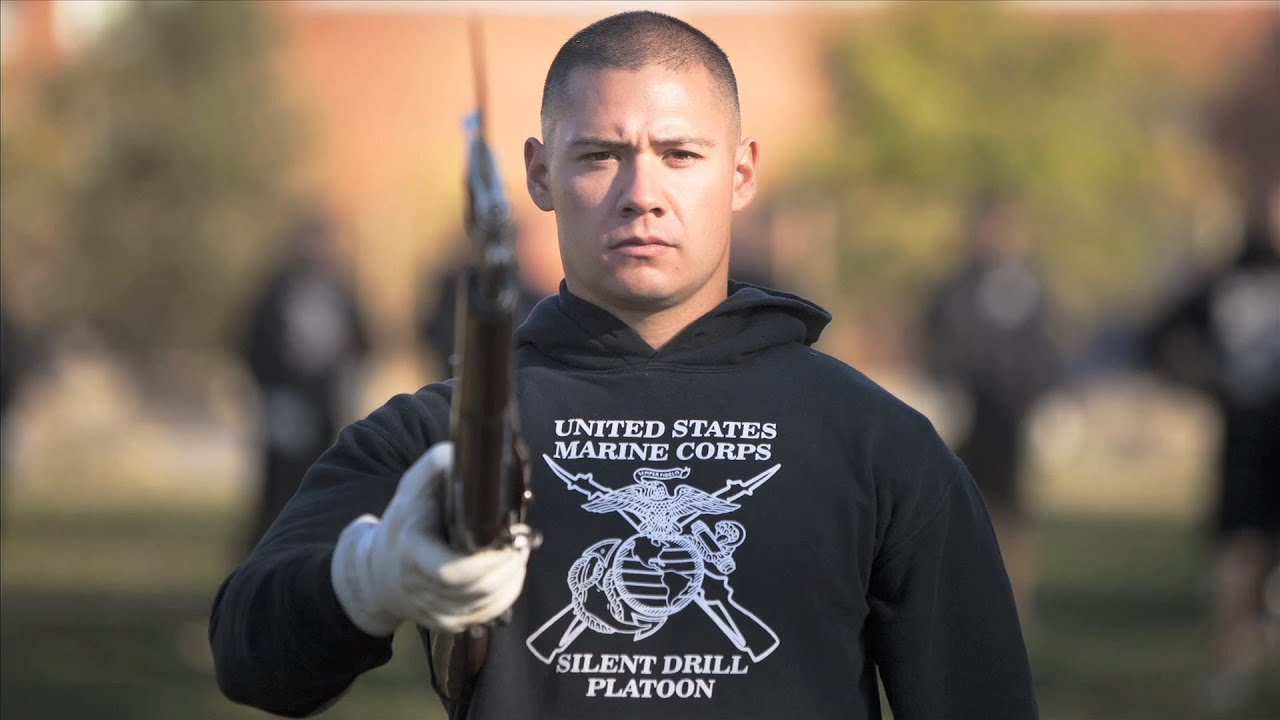 Marine Corps Silent Drill Platoon: LCPL Frank Gonzales ...