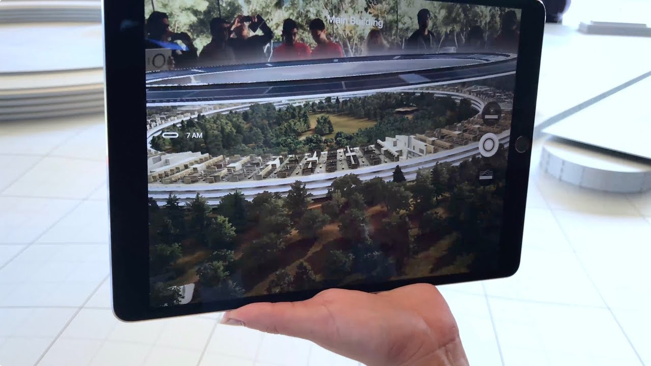 Apple patent shows off immersive AR maps projected from