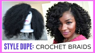 Crochet Braids Kenya : CROCHET BRAIDS ALTERNATIVE: Marley Hair Wig in 30 Minutes!