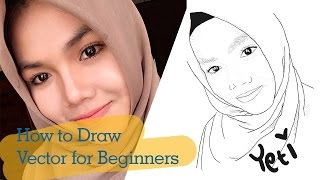 PaintTool SAI Tutorial: How to Draw Vector for Beginners [Yeti]