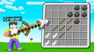 Crafting The BIGGEST ARROW In Minecraft!