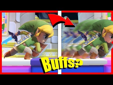 DID PATCH 7.0 BUFFS CHANGE TOON LINK - Toon Link In Smash Ultimate