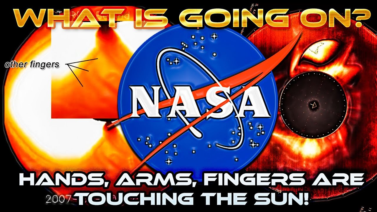 Hey NASA? Hands, Arms and Fingers are TOUCHING the SUN! What is Going on? STEREO COR2-A & KCOR C