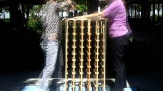 How To Assemble A 5 Column Stackable Wine Rack
