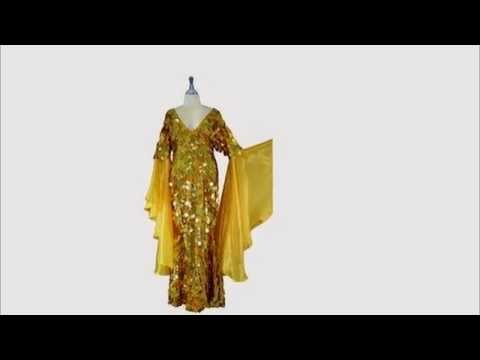 sequinqueen-long-handmade-paillette-sequin-gown-in-hologram-gold-with-sleeves.-item-#2004-010