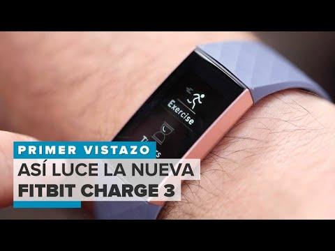 89dace9ca58a Fitbit Charge 3: primeras impresiones