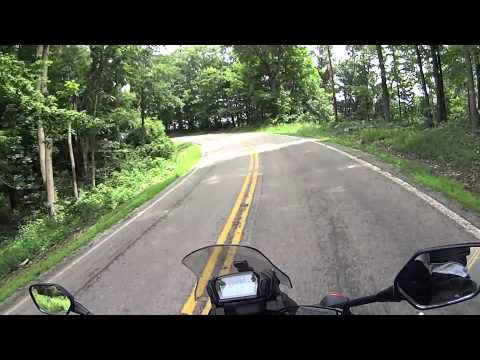 Southern Ohio 555 Motorcycle Ride