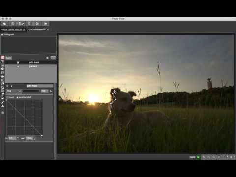 New PhotoFlow layer masks interface