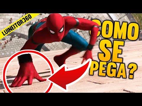 Cómo Puede Spider-Man Pegarse A Las Paredes Con Sus Botas Y Guantes Puestos EXPLICADO!