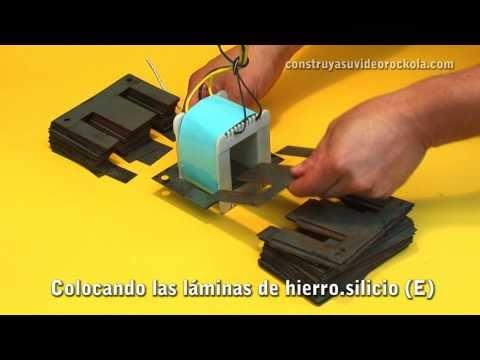 Construcción De Un Transformador Eléctrico Build A Electric Transformer Youtube