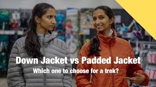 Down Jacket vs Padded Jacket - What