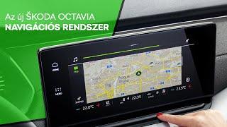 Navigációs rendszer // Az új ŠKODA OCTAVIA