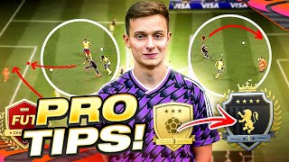 BEST PRO PLAYER TIPS TO IMPROVE AND WIN MORE WEEKEND LEAGUE GAMES!!! FIFA 21