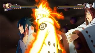 Naruto Shippuden Ultimate Ninja Storm 4 - Boss Battle Gameplay Demo PS4 [60FPS]