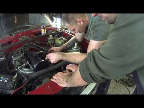 Замена двигателя на ваз 2105 от 2101 без снятия коробки