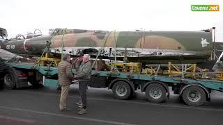 Le retour du Mirage 5 «BD 09» en Belgique. Vers l'Avenir.