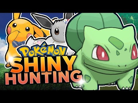 LIVE SHINY BULBASAUR HUNTING! Pokemon Let's Go Pikachu & Let's Go Eevee Shiny Hunting