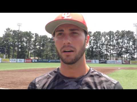 UL-Lafayette catcher Nick Thurman says freshmen pitchers are mentally tough: Video