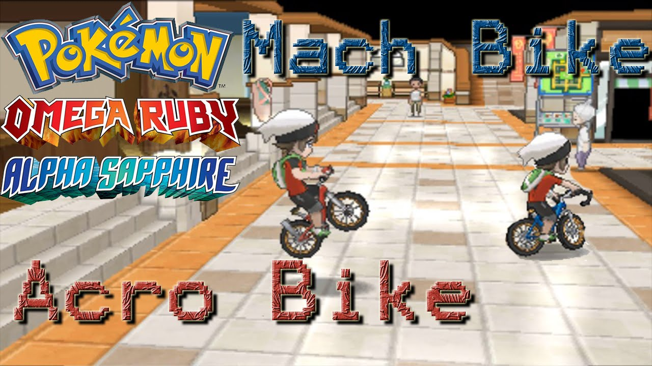 Getting The Mach And Acro Bike Oras Youtube