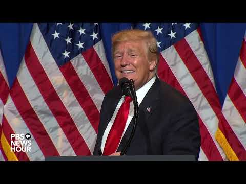 WATCH LIVE: President Trump addresses National Association o