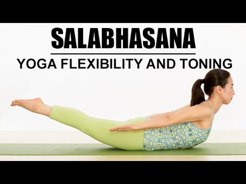 how to do salabhasana  the locust pose  yoga flexibility