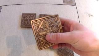 видео Профили и вставки для напольной плитки