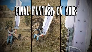 This is what happens when you introduce Final Fantasy XV Modding Tools