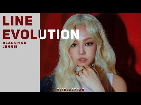 BLACKPINK - Jennie • Line Evolution (All Songs)