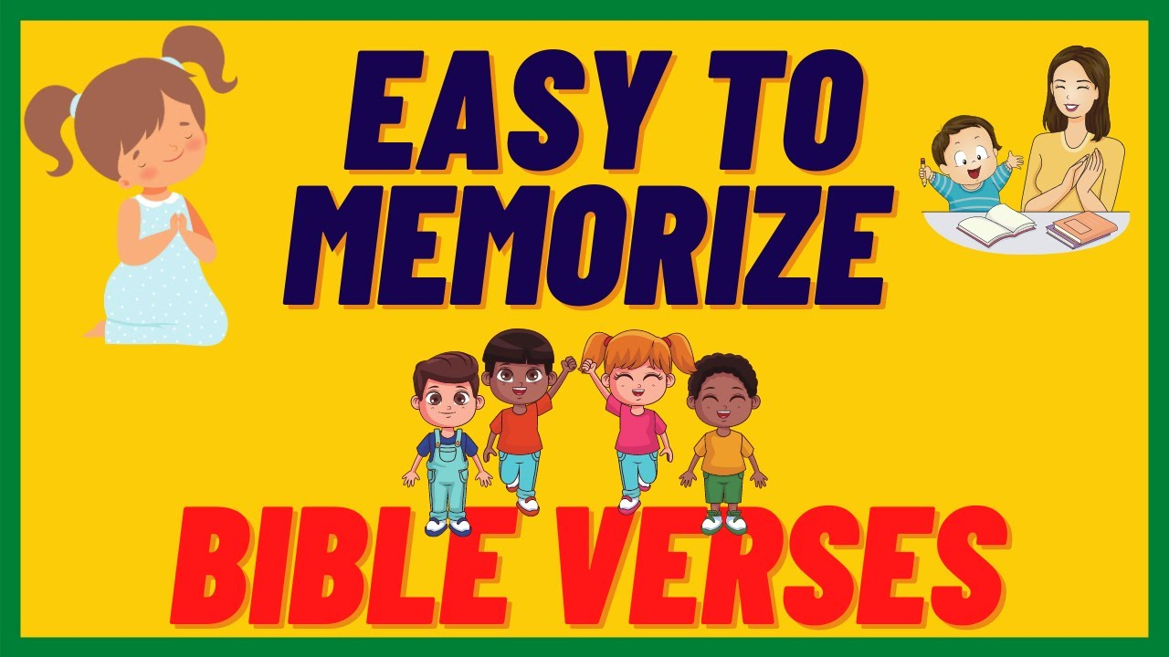 Download SHORT BIBLE VERSES for CHILDREN / PART 1 / EASY to MEMORIZE  / with DIFFERENT LANGUAGES TRANSLATION