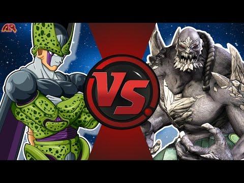 CELL vs DOOMSDAY! (Dragon Ball Z vs DC Comics) Cartoon Fight Club Bonus Episode 13