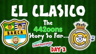 El Clasico - the story so far! Barcelona vs Real Madrid 1-1 2016(DAY 3 FOOTBALL ADVENT CALENDAR)