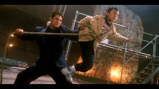 Father  Son Fight the Bad Guys - Jet Li VS Yu Rongguang